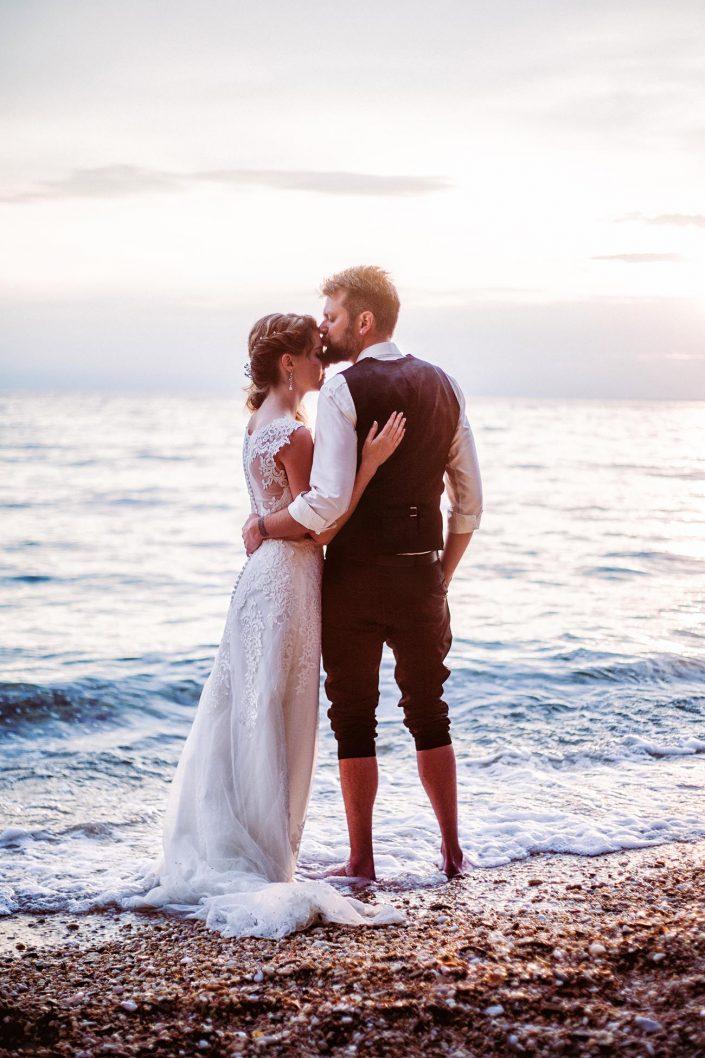 Hochzeitsshooting am Strand